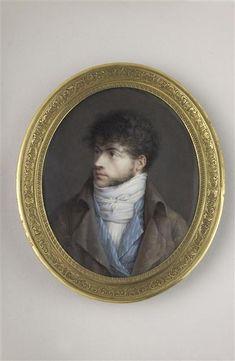 Louis-François Aubry, Self-portrait