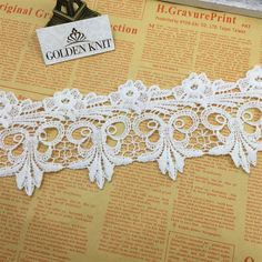 Gold Sequin Organza Embroidered Lace Trim 1 Metre  Sewing//Costume//Corsetry