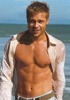 Brad  Pitt-I think I might have this one pinned twice-oh well.