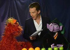 Benedict Cumberbatch star of Sherlock joins Sesame Street
