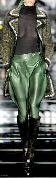 Ermanno Scervino..I would hate to think that her legs actually filled the pants.....