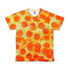 aa01185d All Over Print T shirt Sublimation T-Shirts Pepperoni Pizza Mens Holiday T  Shirts Festival Clothes Men White S