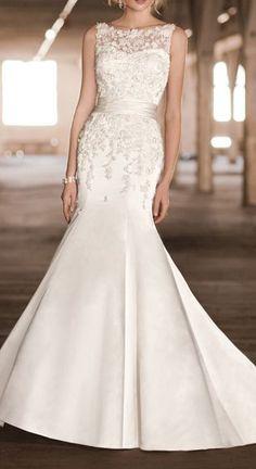 intage Inspired Wedding Dress