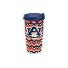 Auburn University Clear Chevron 16 oz. Tervis Tumbler with Lid - Set of 2