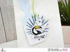 "Australe : Tampons & matrices de coupe (dies) #4enscrap ""Délice sucré"" Tampons, Graphic, Bookmarks, Tags, Mojito, Scrapbooking, Inspiration, Beach, Flower Crowns"