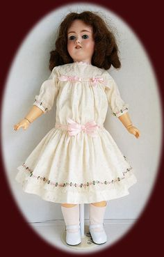 """16/"""" Doll Old Store Stock Vintage Off  Lot of 3 Pair White Rayon Socks for 14/"""""""
