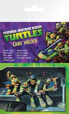 Teenage mutant ninja turtles #official #oyster card card #holder money wallet,  View more on the LINK: http://www.zeppy.io/product/gb/2/152126383363/