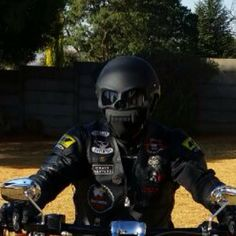 429 Skull Face Masei Harley Davidson Helmet