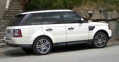 White Range Rover !