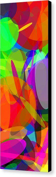 Ellipses 6 Canvas Print by Chris Butler.  #art #abstract #artdeco #design #interior #home #Decor #wall #modern #contemporary #homedecor #abstractart #interiordesign #simple #canvas #print #geometric #abstracts #colorful #vibrant #vivid #ellipse #ellipses #ovals #circles