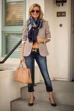 Classy casual work outfits for women career over 30 32 fashion over over 50 Casual Work Outfits, Mode Outfits, Work Casual, Dress Casual, Classy Outfits, Diy Outfits, Dress Attire, Casual Wear, Vegas Outfits