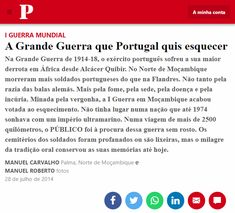 Portugal, War, Geography, News