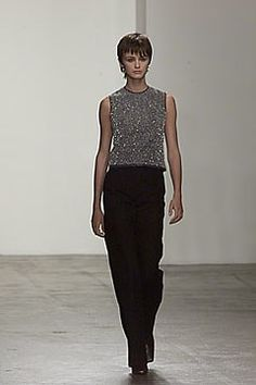 Calvin Klein Collection Fall 2000 Ready-to-Wear Fashion Show - Calvin Klein, Trish Goff