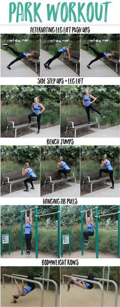 Park Workout 5 Exercises You can do at the Park! The Live Fit Girls Park Workout, Street Workout, Workout Fitness, Outdoor Workouts, At Home Workouts, Fun Workouts, Outdoor Training, Mental Training, Training Quotes