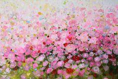 Artpainting acrylic painting Canvas Wall art flower door artbyoak1