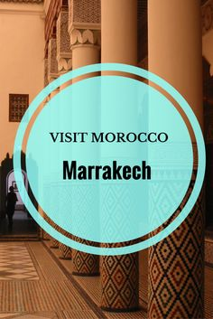 Planning a trip to Morocco: Cultural and adventure highlights in Marrakech. via @thethoughtcard