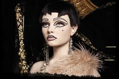 Theatre of the Nameless from the make up experts at Illamasqua