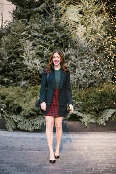 Holiday-inspired style for the office — or that workholiday party. I don't know how, but the month of December seems to fly by at lightning speed. Are you off work yet for the week? He…
