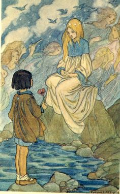 Illustration from the Elfin Song by Florence Harrison (191?)