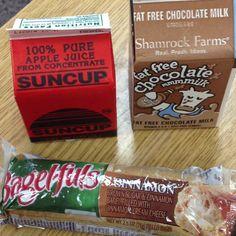 School Breakfast, Childhood Obesity, Bagel, Brown Sugar, Vitamins, Apple, Pure Products, Food, Apple Fruit