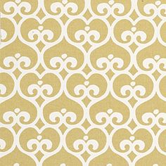 Maize spade upholstery fabric