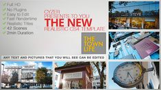 Town Life Intro Promotion - TV Series Opener