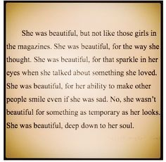 She was beautiful .. beautiful soul, beautiful mind, beautiful girl F. Scott Fitzgerald
