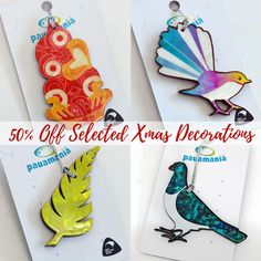 The early bird gets to have xmas early!!. Get 50% Off These selected New Zealand Christmas Decorations (while stocks last) were $17.30 now only $8.65 Christmas Ideas, Christmas Ornaments, Early Bird, Xmas Decorations, School Ideas, Holiday Decor, Crafts, Manualidades, Christmas Jewelry
