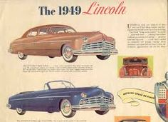Released 1949 [as represented by an ad for the 1949 Lincoln] | Abandoned (1949) **1/2 | MALTIN REVIEW: D: Joseph M Newman. Gale Storm, Dennis O'Keefe, Raymond Burr, Marjorie Rambeau, Jeff Chandler. Pretty good grade-B crime drama about unwed mothers forced to sell their babies for adoption. Burr is an impressive heavy. Aka ABANDONED WOMAN.