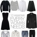 WARDROBE 101: THE 10 ESSENTIAL PIECES EVERY ...