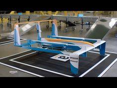 Amazon Prime Air: Neue Amazon Flugzeug Drohne für Paketlieferung im Video! - https://apfeleimer.de/2015/11/amazon-prime-air - Amazon Paketlieferung per Drohne: Amazon Prime Air Projekt nimmt Form an. Die überarbeitete, neue Amazon Drohne für den Prime Air Lieferdienst sieht mehr einem Flugzeug als einer klassischer Drohne (Quadrocopter) ähnlich. Tatsächlich will Amazon die Fiktion der Auslieferung per Drohne bzw. Flu...