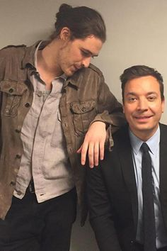 Love being at the #FallonShow with @Hozier. Big Thanks to the whole team for making us feel so welcome.