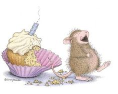 """Mudpie from House-Mouse Designs® featured on the The Daily Squeek® for August 12th, 2013. Click on the image to see it on a bunch of really """"Mice"""" products."""