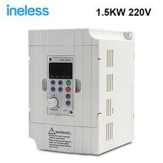 139.84$  Buy here - http://ali3rn.worldwells.pw/go.php?t=32783038552 - 380v 1.5kw VFD Variable Frequency Drive VFD Inverter 3HP 380v Input 3HP for spindle motor speed control 139.84$
