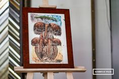 #słonie #elephants #obraz #painting #obraznaskorze #paintingonleather #skóra #leather #czeczot #burl #oprawa #oprawaobrazow #ramiarnia #ramiarniakrakow  #kombinatpasji #frame #framing #art #afryka #africa #pamiątka #souvenir Frame, Painting, Home Decor, Picture Frame, Decoration Home, Room Decor, Painting Art, Paintings, Frames