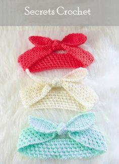 Headband, Crochet Pattern - Secrets Crochet