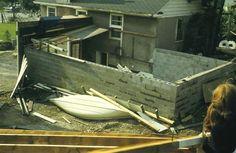 "1970 Sudbury Tornado - Martindale Rd. ""Where's my roof?"" R. Orville Lyttle"