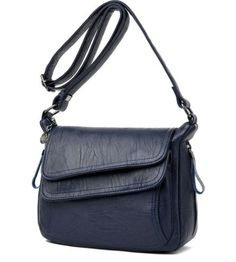 Single sling double flap new design bag