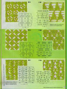 Häkelmuster Fundgrube: Anna - Points Crochet - 205 Idées
