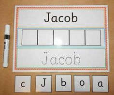 I can Write and Spell my Name - Personalised Name Card - EYFS, SEN, Toddlers, Early learning, letter Name Activities Preschool, Name Writing Activities, Eyfs Activities, Preschool Writing, Preschool Learning Activities, Name Writing Practice, Preschool Prep, Preschool Sign In Ideas, Home School Preschool