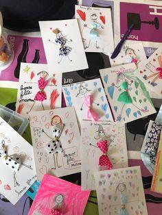 cartes de fête des mères faites maison