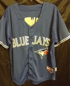 MLB Majestic Brett Laurie #13 Toronto Blue Jays Cool Base Jersey Sz 48 (XL) Used    eBay