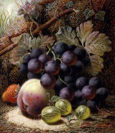 Английский художник Оливер Клэр (Oliver Clare , 1853 - 1927)