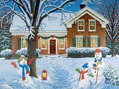 JohnSloaneArt.com - John Sloane - Gallery - Christmas