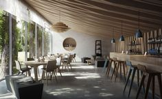 CGarchitect - Professional 3D Architectural Visualization User Community | Café at the lake Balaton