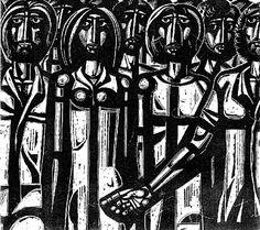 Άννα Αγγελοπούλου: Αγωνιστές του Πολυτεχνείου: μία σύνθεση του χαράκτη Τάσσου