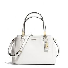 The Madison Mini Christie Carryall In Saffiano Leather from Coach