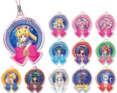 Sailor Moon Crystal Metal Charm Part.3 $45.00 http://thingsfromjapan.net/sailor-moon-crystal-metal-charm-part-3/ #sailor moon #Japanese anime #Japanese product