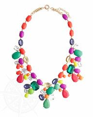 Take your outfit from drab to fab with this dazzling statement necklace! Candy colored gems and crystals add sparkle and a burst of color to any outfit. Wear it with our Crystal Candy Bracelet to complete the look. $9.99