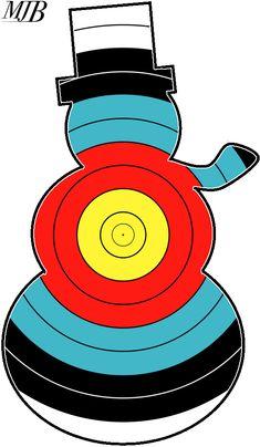 Target Archery Faces - CalcResult Festive Designs